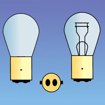 12v 21w/5w Bulb