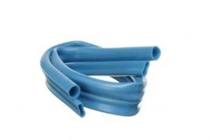 Crystal cut blue hose
